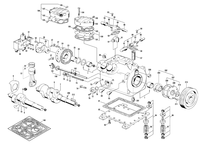 copeland compressor parts breakdown